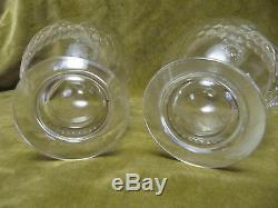2 carafes cristal Baccarat Taille Richelieu (Baccarat Crystal decanters)