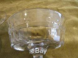 6 coupes champagne cristal Baccarat 1916 taille 8557 crystal champagne cups