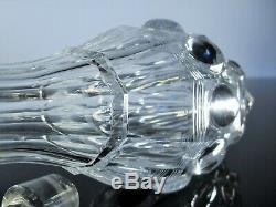 Ancienne Carafe A Cave Digestif Cristal Massif Taille Moule Baccarat 1841