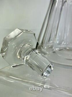 Ancienne Carafe Cristal Baccarat Massif Taille Modele Talleyrand