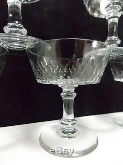 Baccarat-6 Coupes A Champagne Serv Cylindrique Taille 5777-richelieu-champigny-3