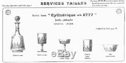 Baccarat-6 Coupes A Champagne Serv Cylindrique Taille 5777-richelieu-champigny-4