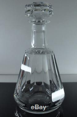 Baccarat/ Carafe Whisky Cristal Taille Cotes Plates Harcourt Talleyrand Signe