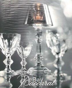 Baccarat Harcourt 6 Tall Sherbet Glasses 6 Coupe A Champagne Cristal Taillé