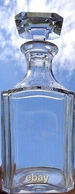 Baccarat Harcourt Perfection Whiskey Decanter Carafe A Whisky Cristal Taillé A