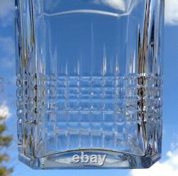 Baccarat Nancy Whiskey Wine Decanter Carafe A Whisky Cristal Taillé Art Deco