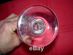 Baccarat Piccadilly 4 Tall Fluted Glasses 4 Flutes A Champagne Cristal Taillé B