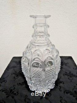 Carafe cristal taille St Louis Baccarat vers 1900