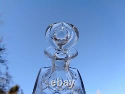 Saint Louis Chantilly Whiskey Wine Decanter Carafe A Vin Whisky Cristal Taillé