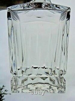 Saint Louis Guernesey Whiskey Wine Decanter Carafe A Vin Whisky Cristal Taillé