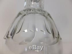 Tres Importante Carafe En Cristal Taille Baccarat Modele Talleyrand